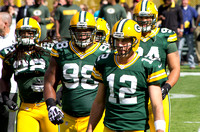 Aaron Rodgers and Teammates