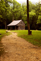 Frontier Home in Cades Cove, Tennessee